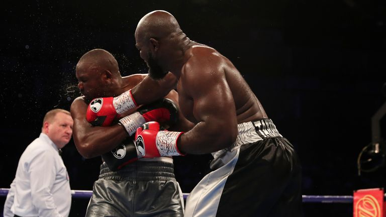 Takam had made a strong start before losing to Chisora in the eighth round