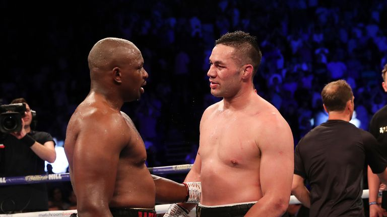 Whyte beat Parker after a gruelling heavyweight clash in London
