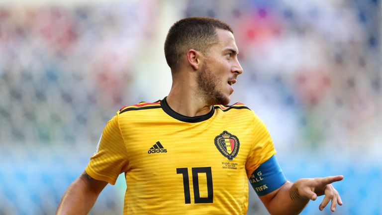Eden Hazard scored Belgium's second goal to seal third place for Roberto Martinez's side