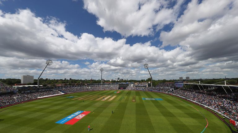 The Ashes will get underway at Edgbaston on August 1