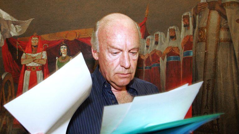 Eduardo Galeano, the celebrated Uruguayan journalist and football fan