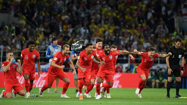 Southgate identified England's first penalty shootout victory in a World Cup a one of the breakthroughs his side have made