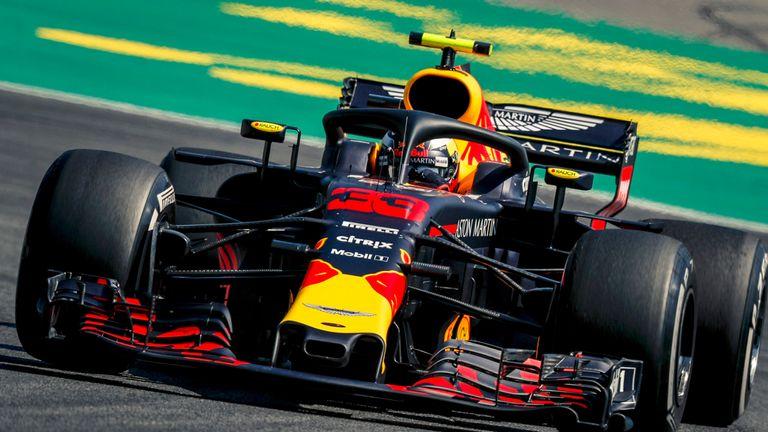 German Gp Practice Two Max Verstappen Just Ahead Of Lewis