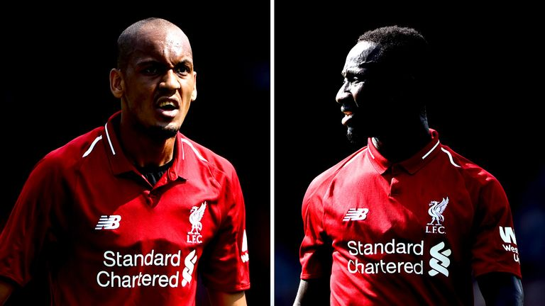 Fabinho and Naby Keita have cost Liverpool more than £90m