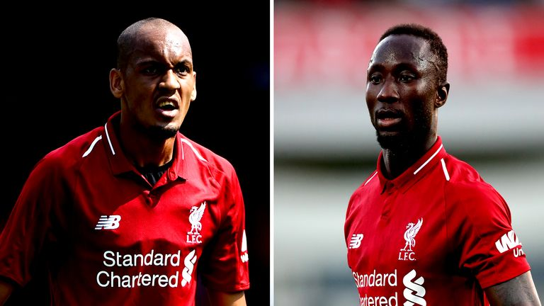 Fabinho and Naby Keita have arrived to bolster Liverpool's midfield options