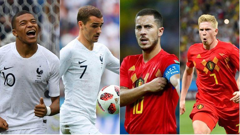 Pick your France v Belgium XI