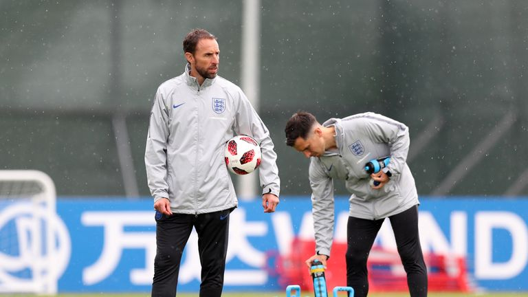 Gareth Southgate says the Leicester striker is 'doubtful' for the upcoming match in Samara
