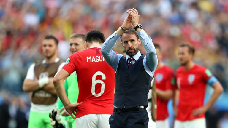 Gareth Southgate led England to the semi-finals for the first time since 1990