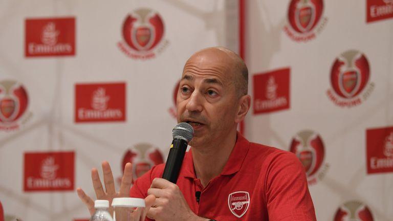 Ivan Gazidis is in Singapore with Arsenal's pre-season squad