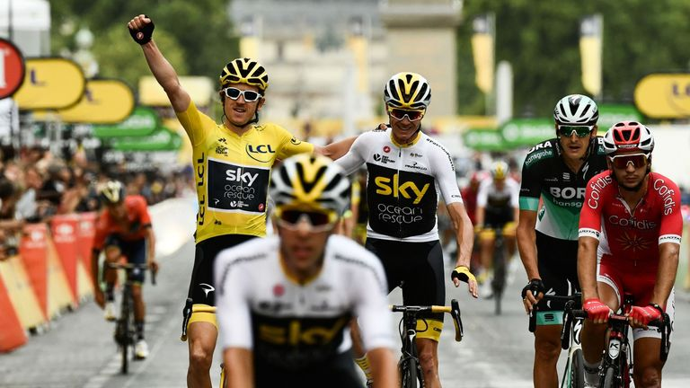 Team Sky have won six of the last seven Tours de France