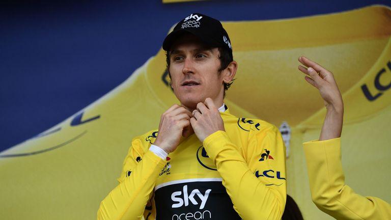 Team Sky rider Geraint Thomas won this year's Tour de France