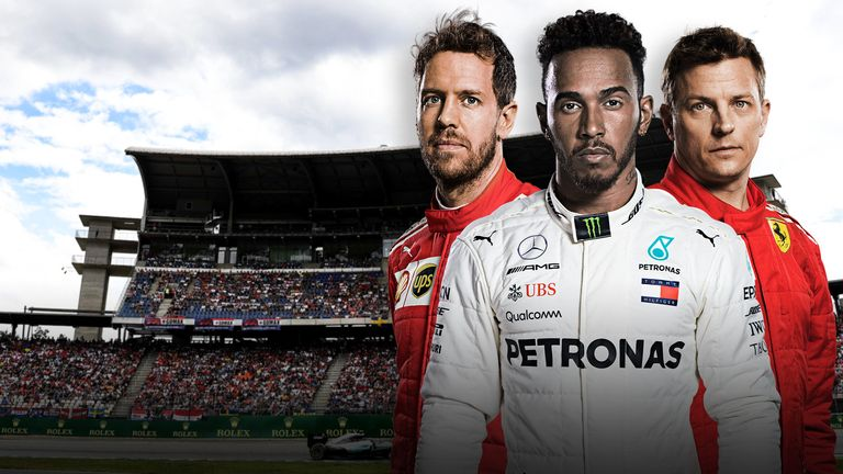 German GP live on Sky Sports F1