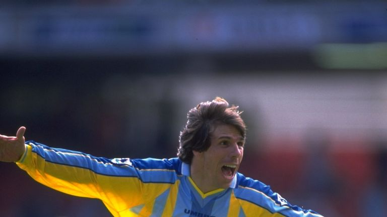 Gianfranco Zola joined Chelsea in November 1996 and became a club legend