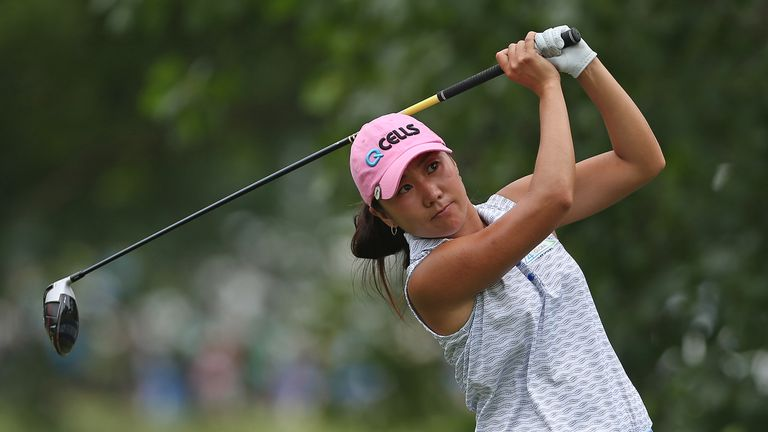 Kim claimed a two-shot victory in 2017