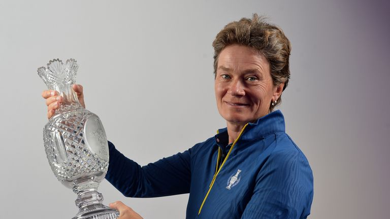 Catriona Matthew will lead Europe in next year's Solheim Cup at Gleneagles