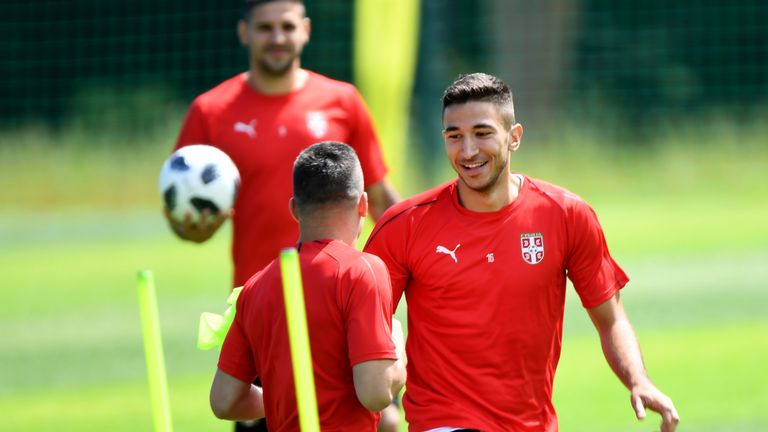 Marko Grujic was part of Serbia's squad for the World Cup