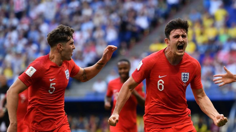 John Stones and Harry Maguire have been important at both ends