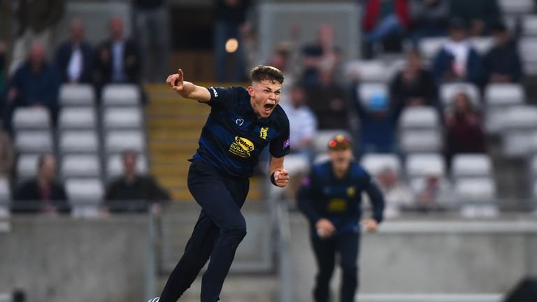 Mark Butcher was impressed by young Warwickshire quick Henry Brookes during the One-Day Cup