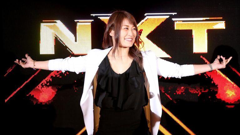 WWE signs Japanese star Io Shirai for developmental brand NXT  b05e99a3d9