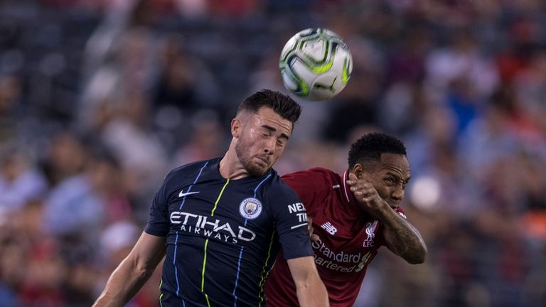 Jack Harrison was part of City's pre-season tour to the United States