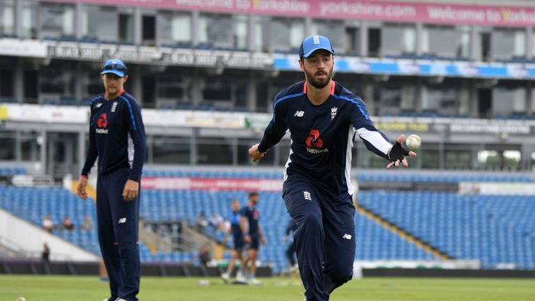 James Vince is in line to play if Roy is unable to take part