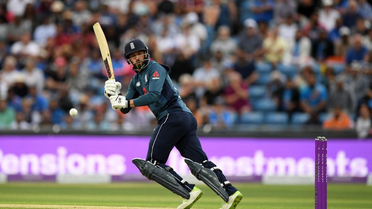 James Vince during the 3rd ODI Royal London One Day match between England and India at Headingley