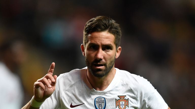 Moutinho has won 113 international caps for Portugal