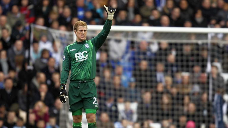 Hart spent a year at Birmingham on loan in 2009-10, where the Blues won the League Cup - but were also relegated