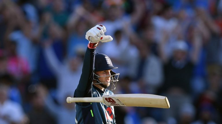 Root scored centuries in the final two ODIs against India to help England claim a 2-1 series win