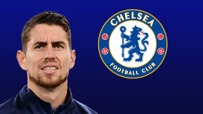 Italy midfielder Jorginho has signed for Chelsea in a five-year deal