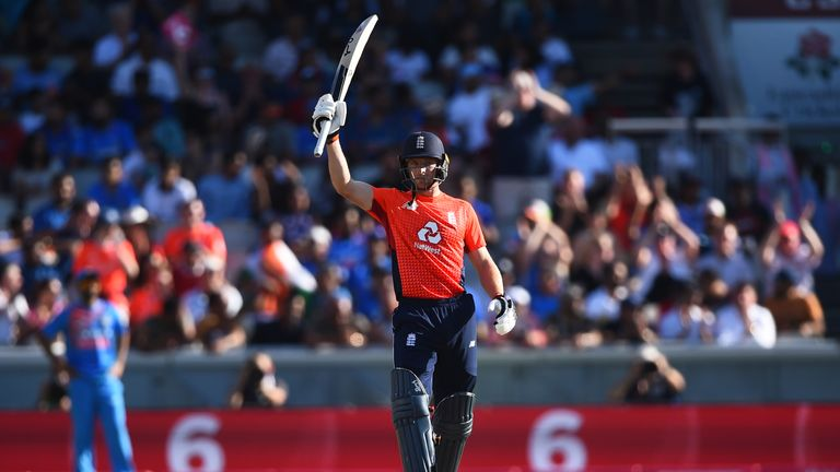 Jos Buttler top-scored for England with 69
