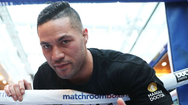 Joseph Parker has set his sights on a rematch with Anthony Joshua