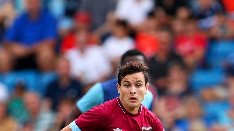 Josh Cullen made just two Premier League appearances off the bench for West Ham last season