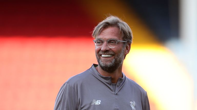 Jurgen Klopp has yet to win a trophy with Liverpool