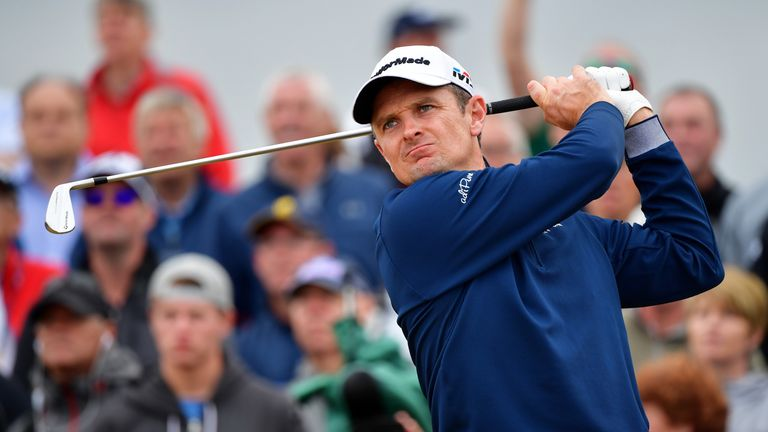 Justin Rose is out early on Saturday after just making the cut