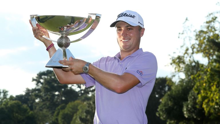 Justin Thomas is the defending FedExCup champion