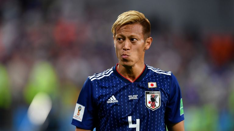 Keisuke Honda featured in three World Cups for Japan