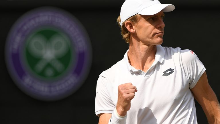 Kevin Anderson reached his first Wimbledon final in dramatic circumstances