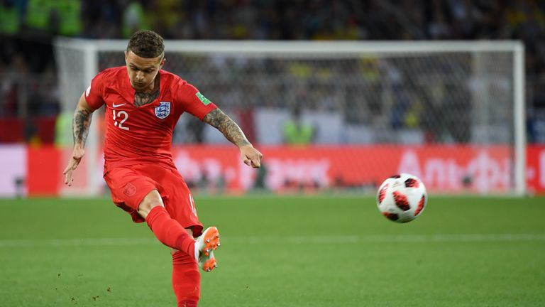 Only three players have created more chances than Kieran Trippier at the World Cup so far