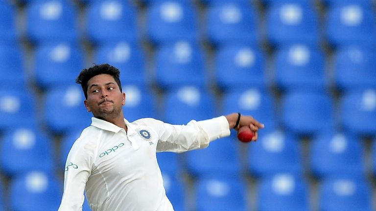 Image result for kuldeep yadav in test