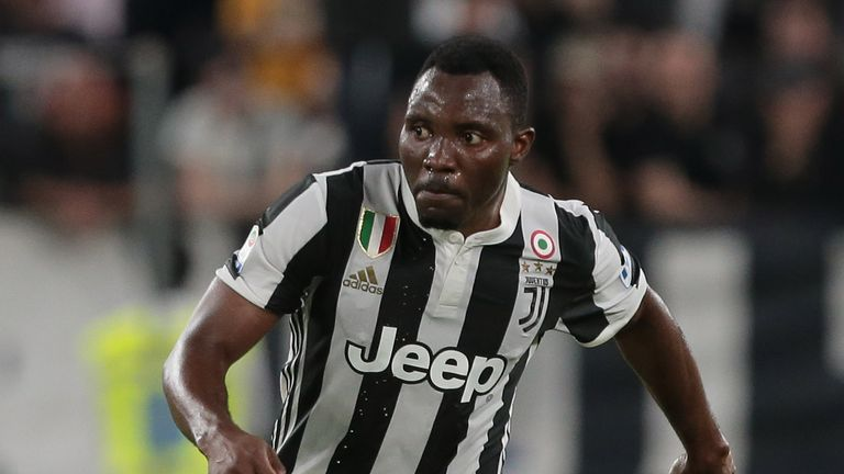 Kwadwo Asamoah made 156 appearances with Juventus