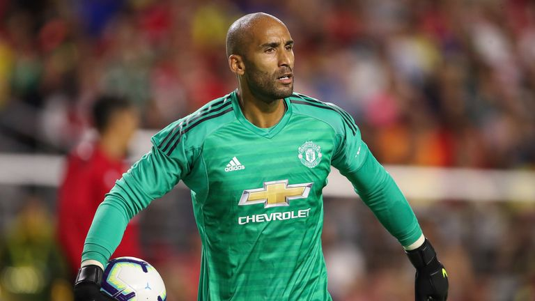 Lee Grant impressed on his United debut in the first half