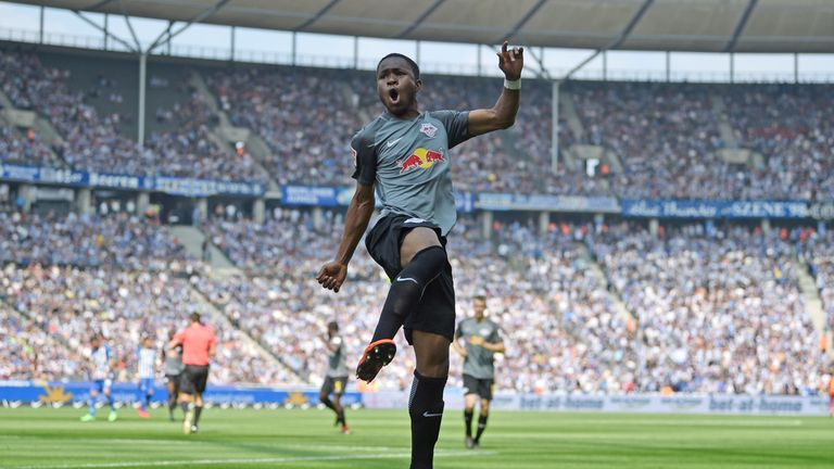 Ademola Lookman has impressed in the Bundesliga