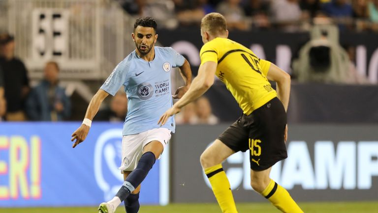 CHICAGO, IL - JULY 20:  during an International Champions Cup match at Soldier Field on July 20, 2018 in Chicago, Illinois.  (Photo by Elsa/Getty Images)