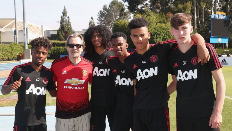 Some of Manchester United's brightest youngsters who have travelled on their pre-season tour