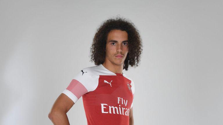 Maillot THIRD Arsenal Matteo Guendouzi