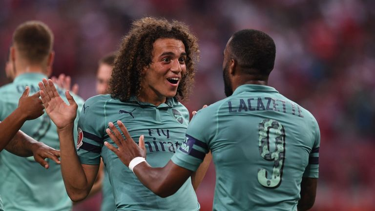 Matteo Guendouzi joined Arsenal from Lorient this summer