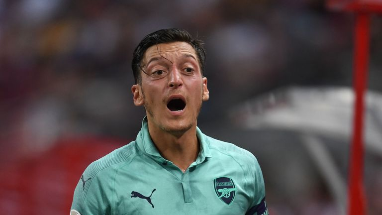 Mesut Ozil is likely to be involved against Qarabag