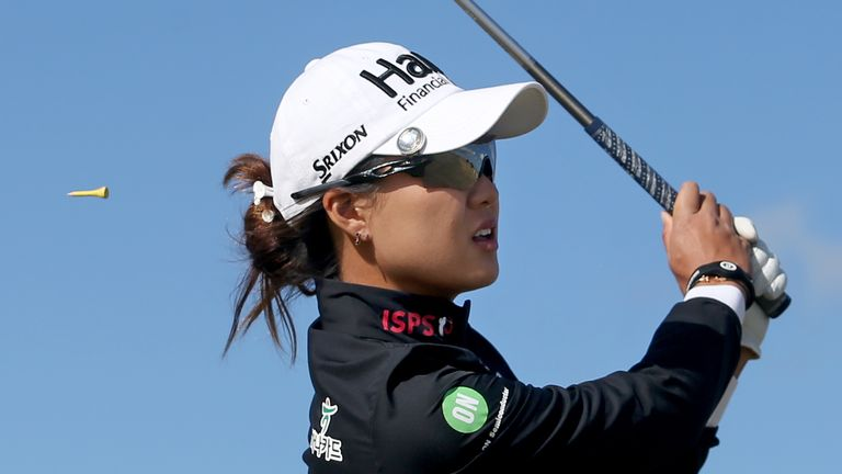Minjee Lee holds third place