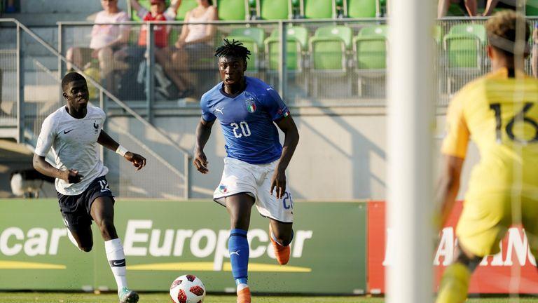 Italy Moise Kean Under-19 Euros